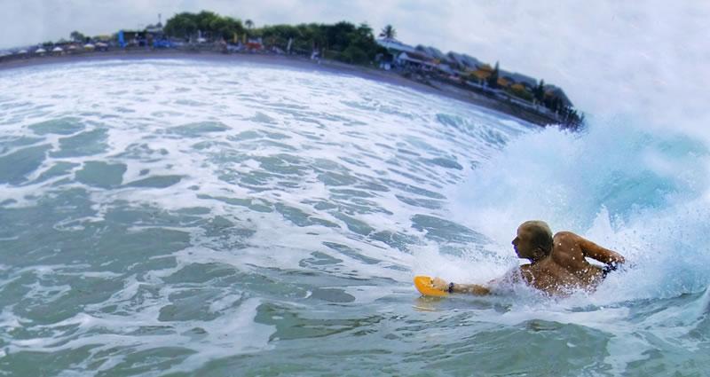 Bodysurfing handplane 12