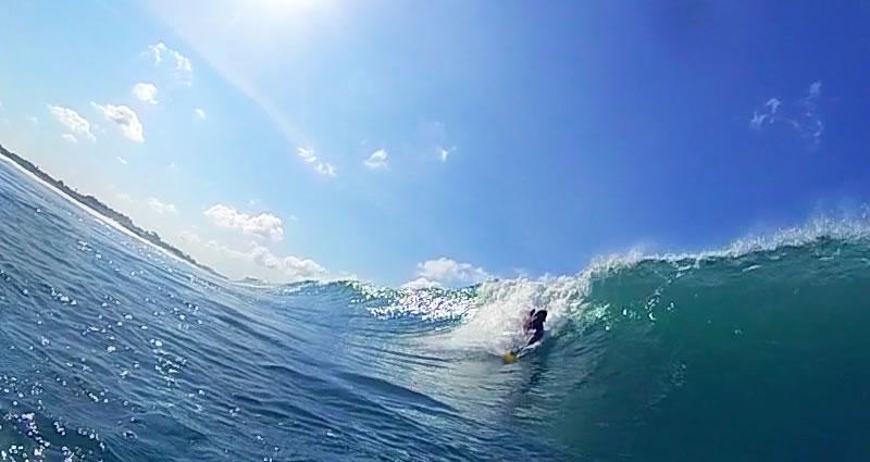 Bodysurfing handplane 14