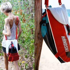 A handy carry bag for your Taylor's Mistake Handski handplane