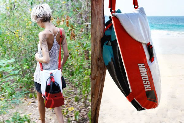 A handy carry bag for your Taylor's Mistake Handski handplane